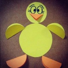 circle duck craft