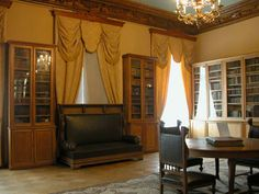 The Prince's Study at the Yusupov Palace