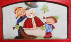 Figuras de Navidad en madera country