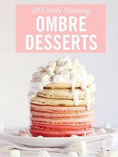 Ombré Cakes - 10 Utterly Stunning Ombré Desserts - Cosmopolitan