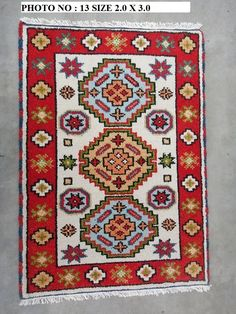 Hand-knotted Kazak area rug, classic traditional oriental carpet 100% wool, exclusive quality handmade rug at discount sale price  - - #Ljoni #Rugs #linkinbio #homedesign #arearug #homedecor #ruglove #homedecoration #masterbedroom