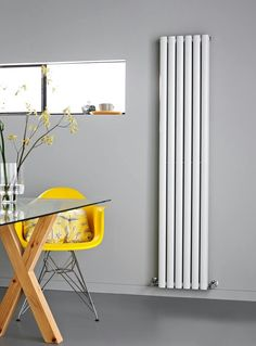 This Double Panel radiator from Premier is one of our newest range of modern heating. We sell this and a variety of other modern radiators in colours including white, anthracite and silver. Free up an entire wall! Tall Radiators, Best Radiators, Vertical Radiators, Kitchen Radiators, Living Room Radiators, Heating Radiators, Bathroom Radiators, Living Room Kitchen, My Living Room