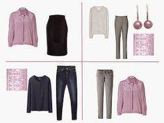 "Adding a ""Pantone"" Accent Color to a 4 by 4 Capsule Wardrobe: Mauve Mist | The Vivienne Files"