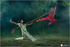 Chinese martial arts The beauty of Wushu by Sergey Sukhovey