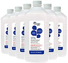Mountain Falls Isopropyl Alcohol First Aid Antiseptic for Treatment of Minor Cuts and Scrapes, 32 Fluid Ounce (Pack of Natural Disinfectant, Disinfectant Spray, Preserve Carved Pumpkin, How To Preserve Pumpkins, Rubbing Alcohol Uses, Preserving Pumpkins, Survival Supplies, Survival Skills, Emergency Supplies