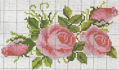 free cross stitch chart Free Cross Stitch Charts, Just Cross Stitch, Cross Stitch Flowers, Cross Stitch Patterns, Cross Stitching, Cross Stitch Embroidery, Embroidery Patterns, Hand Embroidery, Cross Stitch Alphabet