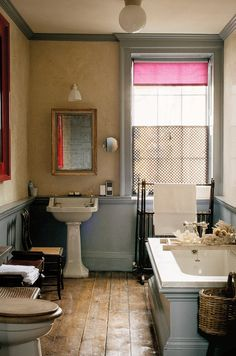 Inside the artist and product designer's magical London townhouse. Inside the artist and product designer's magical London townhouse. London Townhouse, London Apartment, Contemporary Interior Design, Modern Bathroom Design, Minimal Bathroom, Bathroom Interior Design, Design Kitchen, Modern Contemporary, Bad Inspiration