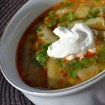 Sajtos rakott pulykamell - Keva Blog Mozzarella, Bacon, Soup, Ethnic Recipes, Soups, Pork Belly