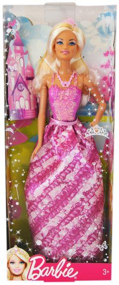 Barbie Princesa Brillos Mágicos - Corpiño rosa