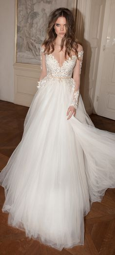 Wedding Dress by Berta Bridal Fall 2015: They're all so revealing-ly gorgeous.