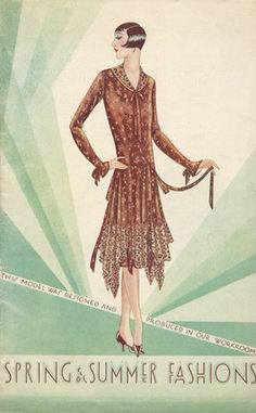 1920's fashion catalogue