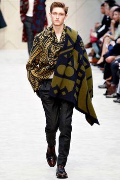 Callum Ball  Burberry Prorsum Fall/Winter 2014   London Fashion Week