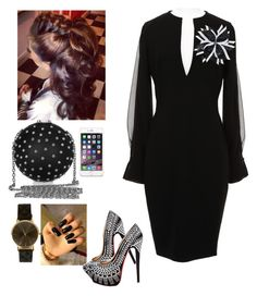 Official Night District Meeting!!! by cogic-fashion on Polyvore featuring polyvore fashion style Givenchy Christian Louboutin clothing