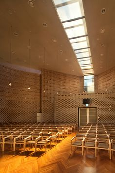 Image 1 of 28 from gallery of BUFS Chapel / Architects Group RAUM + Nikken Sekkei. Photograph by Yoon Joon-hwan Sacred Architecture, Religious Architecture, Modern Architecture, Church Sermon, Light Study, Modern Church, Church Stage, Yoona, Retail Design