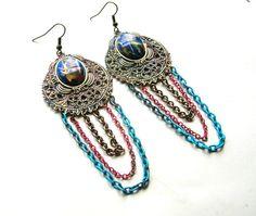 Bohemian Earrings  Boho Earrings  Bohemian by BohemianGypsyCaravan