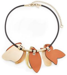 Marni Necklace with Leather
