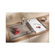 Blanco spoelbak Metra 5 S manueel opbouw tartufo 517349 Bath Caddy, 5 S, Horn, Sink, Design, Home Decor, Kitchen Sinks, Kitchen Tables, Kitchens