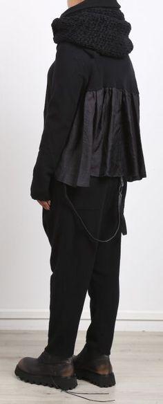 rundholz - Hose Merino wool black - Winter 2017 - stilecht - mode für frauen mit…