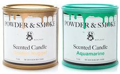powder & smoke paint can candles, by d.l.&co. (via @designsponge)