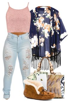 """""""Untitled #157"""" by heavensincere ❤ liked on Polyvore featuring Boohoo, MICHAEL Michael Kors and UGG Australia"""