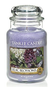 Amazon.com: Yankee Candle Lilac Blossoms Large Jar 22oz Candle: Home & Kitchen Just got this with an illuma-lid.