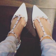 0eb9beb3d0 Instagram - Shop Heti #dunelondon #startwiththeshoes #white #studded  #reptile London Instagram