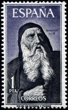 Raimundo Lulio - 1963 Franciscano, filosofo y poeta
