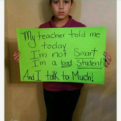 Please share on social media Verbal abuse needs to end in school  At home we teach are children to respect adults and this is how the kids get repaid!!! And u don't even know!! Accessories Belts