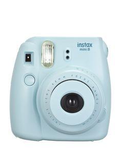 Fuji Blue Instax Mini 8 Instant Camera