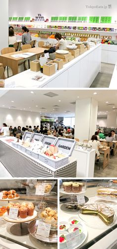 A brand new delicious bakery in Tokyo, connected to the back side of the Uniqlo Ginza Store!