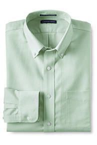 Traditional Fit Solid No Iron Supima Oxford Dress Shirt