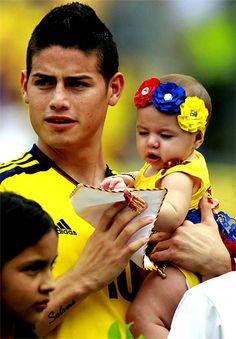 El amor de sus hijos, la cábala de los jugadores de la selección Colombia