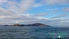 Die Insel Alcatraz in San Francisco
