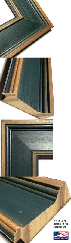 Frames and Supplies 37575: 20 Ft - 3 Wide Reverse Wood Picture Frame ...