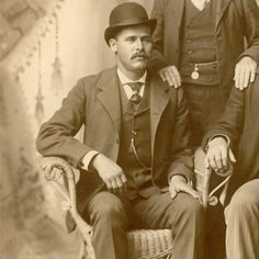 """Henry Longabaugh AKA The Sundance Kid   The Sundance Kid earned his nickname when he was caught and convicted of horse thievery in Sundance, Wyoming. Despite his reputation as a gunfighter, he is not certain to have actually killed anyone. After his release from jail in 1896, he and Robert LeRoy Parker aka """"Butch Cassidy"""" formed the gang known as the Wild Bunch. They were responsible for the longest string of successful train and bank robberies in American history."""