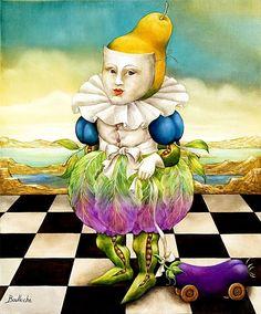 Agnès Boulloche French surrealist painter