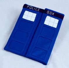 Dr Who TARDIS inspired iPad case by MyGeekyBoyfriend on Etsy,