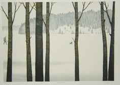 Esa Riippa (Finnish, 1947-) > Hajavalo 45 x 34 cm