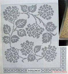 Crochet - filet pattern