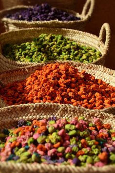 The spice market of Marrakech