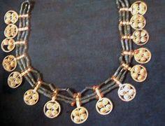 Necklace found in Ur, ca.2680-2450/2520-2400bc, 21cm