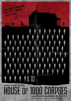 House of 1000 Corpses Poster by chadtrutt.deviantart.com on @deviantART