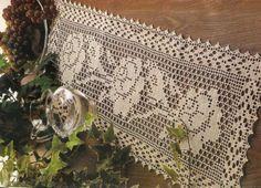 Crochet: tablecloth