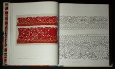Slovak Folk Embroidery pattern technique Embroidery Applique, Embroidery Patterns, Graphic Patterns, Guide, Folklore, Prague, Line Art, Needlepoint, New Books