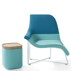 """UNStudio's Gemini chair """"allows a variety of<br /> seating positions"""" for working or lounging"""