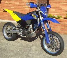 My Husqvarna Te sm 610 super moto motard. Broom broom!