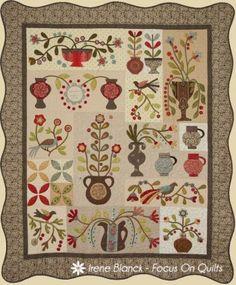 Irene Blanck's BOM Gardenhurst from Homestead Hearth
