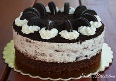 Oreo torta recepttel / Amazing Oreo cake with recipe (Sütik Birodalma) Cupcake Recipes, Cookie Recipes, Simple Elegant Cakes, Torte Cake, Cold Desserts, Fun Cooking, Cake Decorating, Sweet Treats, Sweets