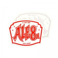 Ale-8-One Car Decal