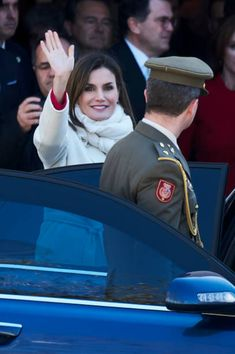 Queen Letizia of Spain attends The Commemoration of Capitulations of Valladolid at the Miguel Delibes Cultural Center on March 22 2018 in Valladolid...